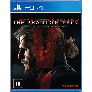 Jogo Metal Gear Solid V The Phantom Pain PS4