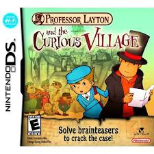 Jogo Professor laytonand the Curios Village DS