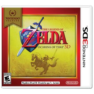 Jogo The Legend of Zelda Ocarina of Time 3DS