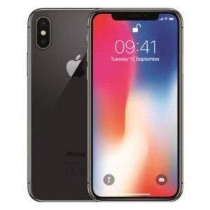 iPhone X 64GB Cinzento Seminovo (Grade A)