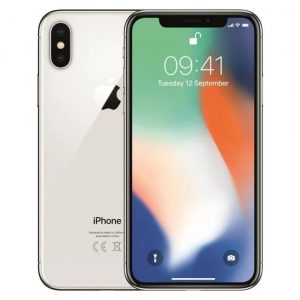 iPhone X 64GB Prateado Seminovo (Grade A)