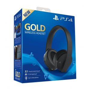 Headset Gaming Wireless Gold PS4 Seminovo