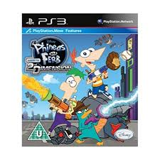 Jogo Phineas and Ferb 2nd Dimension PS3 Seminovo