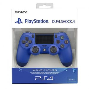 Comando Sony PS4 Dualshock Wave Blue