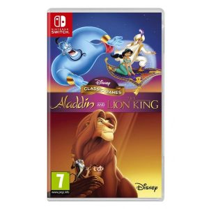 Jogo Disney Classic Games: Aladin and The Lion King Nintendo Switch