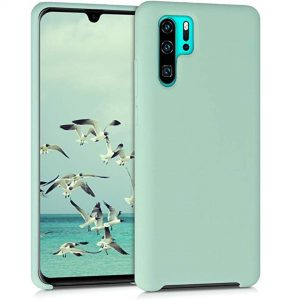 Capa Silicone Huawei P30 Pro Verde