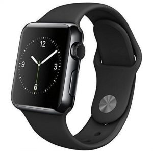 Apple Watch 38mm (1st Gen.) Stainless Steel Case Black Seminovo (Grade A)