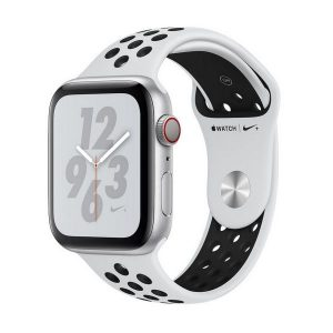 Apple Watch Nike+ Series 4 GPS + Cellular 40mm Silver Aluminum Case
