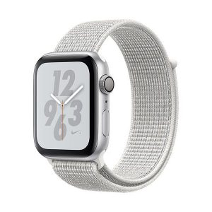 Apple Watch Serie 4 40mm GPS Aluminum Silver Nylon Band